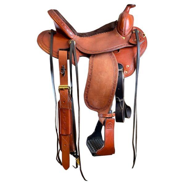 Durango Deep Seat horse tooling