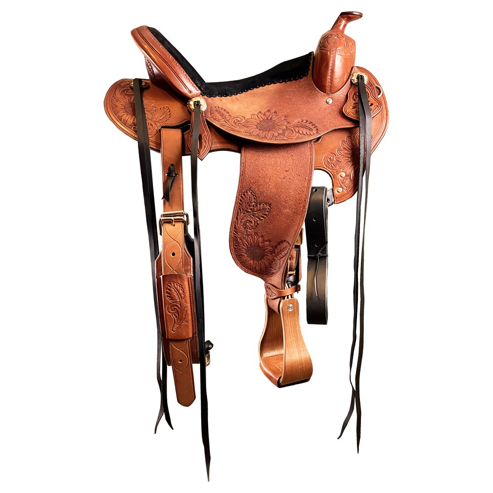 Custom Western Saddle Concho Saddle Set Free Shipping in th Custom Made To Order many color combinations to choose from