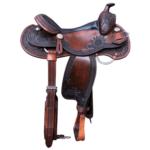 Western Dressage Saddle Antique Brown