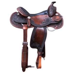 Western Dressage Saddle Antique Brown