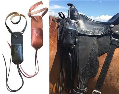 Leather Saddle Water Bottle Holder