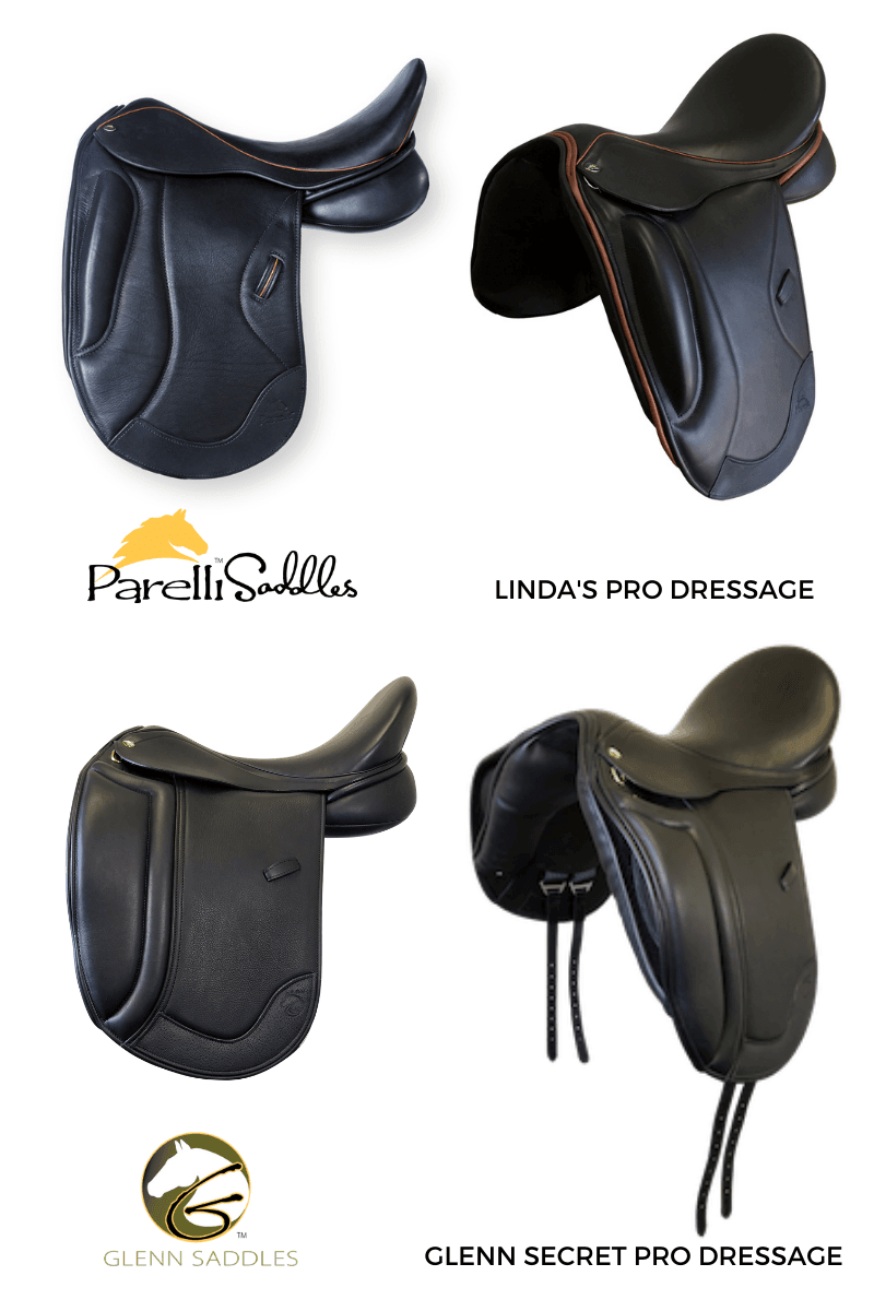 Pro Dressage Mono Flap Saddles