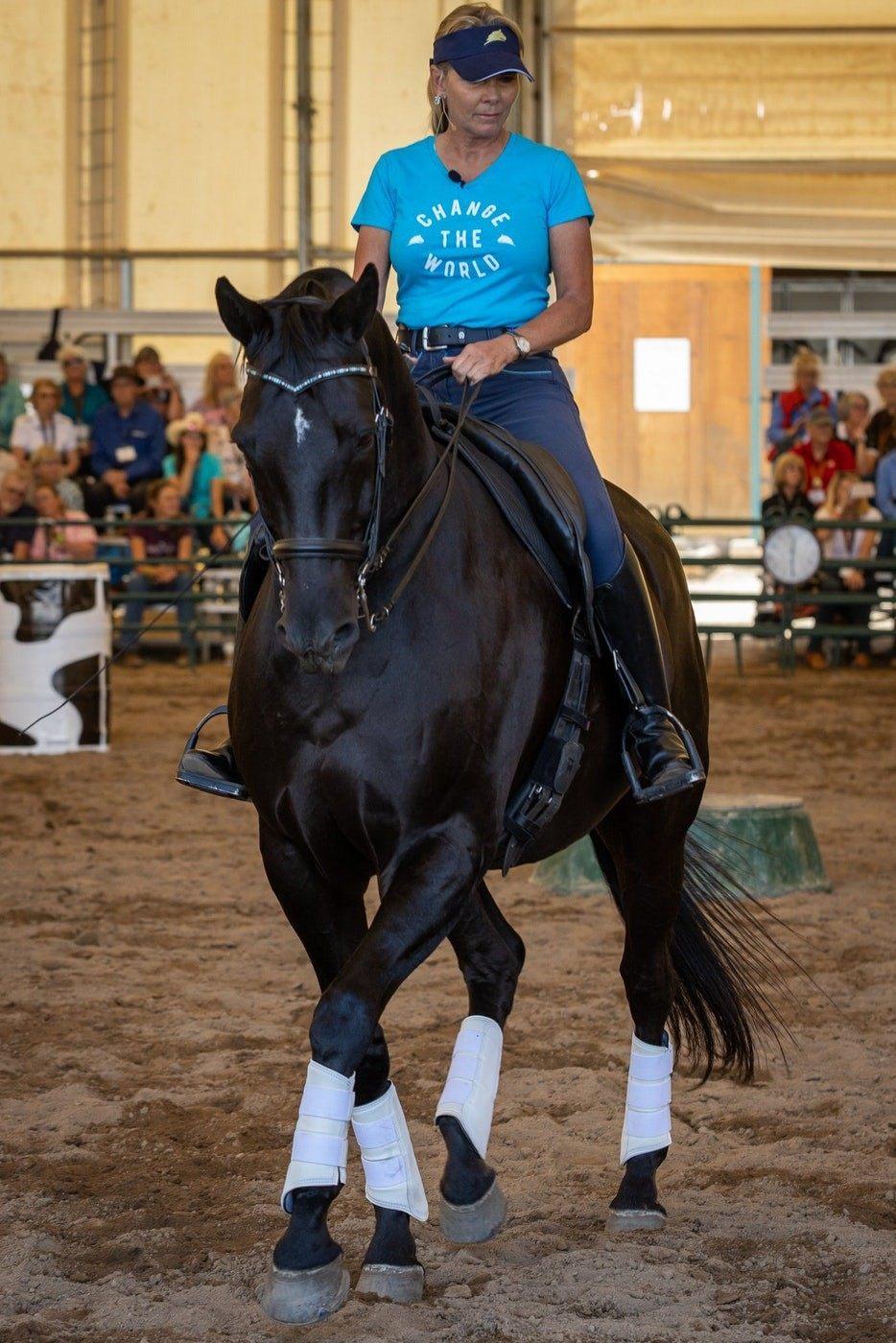 Linda Jazz engaged view saddle front.jpg